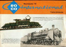 Catalogue ROCO 1978 (nouveautés) - Scala HO