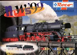 Catalogue ROCO 1999 (nouveautés) - HO Scale