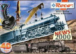 Catalogue ROCO 2000 (nouveautés) - HO Scale