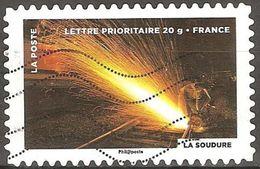 France - 2012 - Soudure - YT Adhésif 752 Oblitéré - France