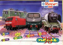 Catalogue ROCO 1998 (nouveautés) - Scala HO