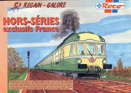 Catalogue ROCO Hors Séries 1998 (exclusifs France - Regain Galore) - Scala HO