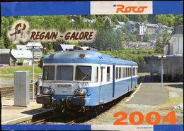 Catalogue ROCO Hors Séries 2004 (exclusifs France - Regain Galore) - HO Scale