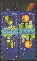 """LITUANIA / LITHUANIA /LITAUEN /LITUANE - EUROPA 2009 - TEMA """"ASTRONOMIA"""" - 2 SERIES De 2 V. En PAR INVERTIDO -. DENTADO - Europa-CEPT"""