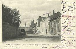 Craponne Sur Arzon Avenue De La Prairie Perspective De La Chapelle Des Penitents - Craponne Sur Arzon