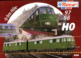 Catalogue ROCO 1997/1998 - HO Scale