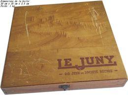 Boite De Jeux Le JUNY - Années 1950 - Jeux De Société