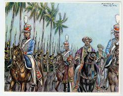 Belgen Overzee, Belges D'outremer 1968 - 36 - Dipo Negro, Kolonel Cleeren, Magelang, 1830 - Trade Cards