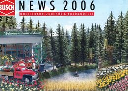 Catalogue BUSCH Nouveautés 2006 - HO Scale