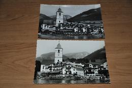 2061- 2 Karten Von St. Wolfgang, Weisses Rössl - St. Wolfgang
