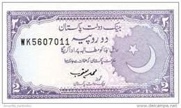 PAKISTAN 2 RUPEES ND (1993) P-37 NEUF SIGN. MUHAMMAD YAQUB [ PK222e ] - Pakistan