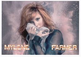 Mylène FARMER Carte Postale N° ATHQ 276 - Artistas