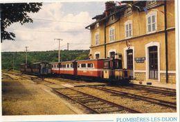 Plombières Les Dijon.Le Petit Train De La Côte D'Or. - Nuits Saint Georges