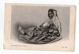 Une Bédouine Avec Enfant - Algérie
