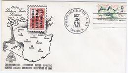 Lithuania Lietuva USA United States 1966 Canceled In Chicago - Lituania