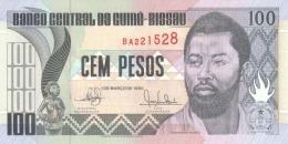 GUINEA BISSAU 100 PESOS 1990 P-11 UNC  [ GW202a ] - Guinea-Bissau