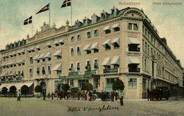 KOBENHAVN HOTEL D'ANGLETERRE    Dänemark  Denmark Dinamarca - Dinamarca