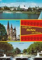 Postcard Grusse Aus Bonn Am Rhein Multiview  My Ref B22190 - Greetings From...
