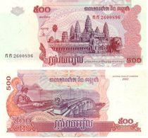 Camboya - Cambodia 500 Riels 2002 Pick-54-A UNC - Cambodia