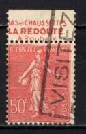 FRANCIA - 1924 - SEMINATRICE CON BANDELLA PUBBLICITARIA - USATO - Advertising