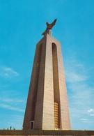 Postcard Monument To Christ King Almada Portugal PU 1988 My Ref B22196 - Monuments