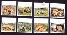 Tanzania, Scott #1738-1745, Mint Hinged, Mushrooms, Issued 1998 - Tanzania (1964-...)