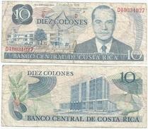 Costa Rica 10 Colones 1986 Pick 237.b Ref 138 - Costa Rica