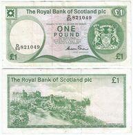 Escocia - Scotland 1 Pound 1-5-1986 Pick 341A.a - 1 Pound