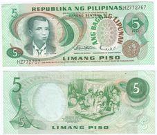 Filipinas - Philippines 5 Piso 1970 Pick 153.a Ref 1419 - Filipinas