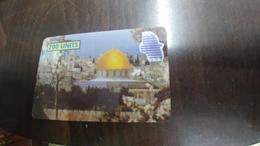 Palestine-al Aqsa Tower Jerusalem-mint+1card Prepiad Free - Palestine