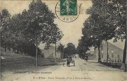 Vallée De La Meuse Illustrée - 8- FLIZE -route Nationale -ed. E.R.T. - Other Municipalities