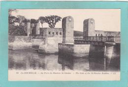 Small Antique Postcard Of La Porte Du Bastion St.Nicolas,La Rochelle, Nouvelle-Aquitaine, France,Y46. - La Rochelle