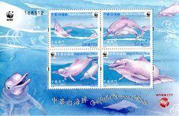 Macau 2017 WWF Dolphins Ss Mint - 1999-... Chinese Admnistrative Region