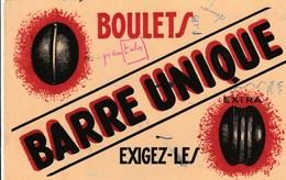 BUVARD  BOULETS BARRE UNIQUE  EXIGEZ LES - Buvards, Protège-cahiers Illustrés
