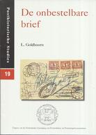 L. Goldhoorn - De Onbestelbare Brief - Posthistorische Studies 19 - Filatelie En Postgeschiedenis
