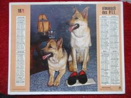 Almanach Des P.T.T. / De 1971 - Big : 1971-80