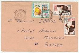 Tunisie  // Lettre Pour La Suisse - Tunisie (1956-...)