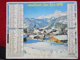 Almanach Des P.T.T. / De 1978 - Big : 1971-80