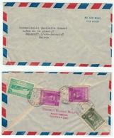 Iran// Lettre Pour La Suisse (affranchissement Au Verso) - Iran