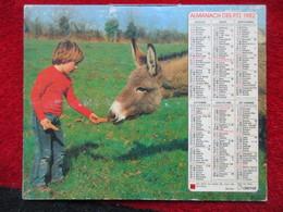 Almanach Des P.T.T. / De 1982 - Big : 1981-90