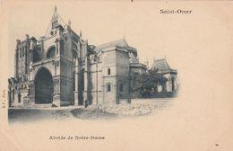 Cp , 62 , SAINT-OMER , Abside De Notre-Dame - Saint Omer