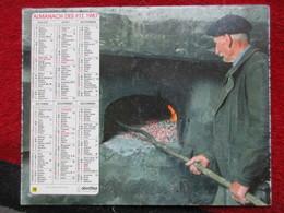 Almanach Des P.T.T. / De 1987 - Big : 1981-90