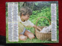 Almanach Des P.T.T. / De 1988 - Big : 1981-90