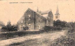 Saint-Antoine - L'Eglise Et Le Presbytère (Desaix, 1947) - Manhay