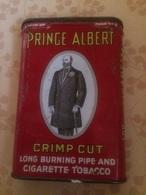 Scatola Di Latta Tabacco Prince Albert Per Pipa E Sigarette Anni 40 USA - Boites à Tabac Vides