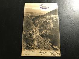 1060 - Pont De La Caille - 1904 Timbrée Tampon EPICERIE CAFÉ J. DURET - Autres Communes