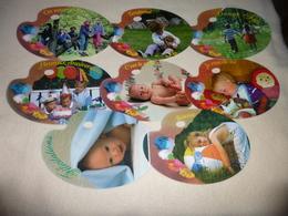 LOT DE 8 CARTES PALETTE ...A MESSAGES.. - Cartes Postales