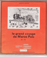 """LE GRAND VOYAGE DE MARCO POLO """"TTB ETAT"""" TEXTE ET 16 DIAPOSITIVES Dossiers Pédagogiques - Diapositives (slides)"""