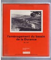 Série 16 Diapositves AMENAGEMENT DU BASSIN DE LA DURANCE Années 70 80 TTB En Couleur  Jamais Visionnées - Diapositives (slides)
