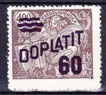 ** Tchécoslovaquie 1926 Mi P 45 (Yv TT 45), (MNH), - Timbres-taxe